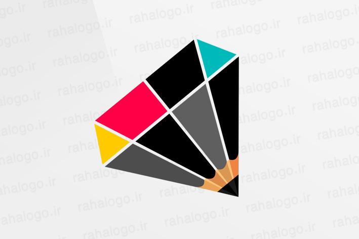 طراحی لوگو الماس گرافیک