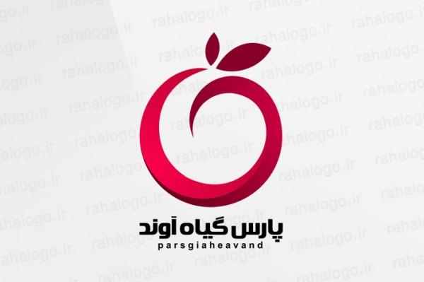 طراحی لوگو پارس گیاه آوند