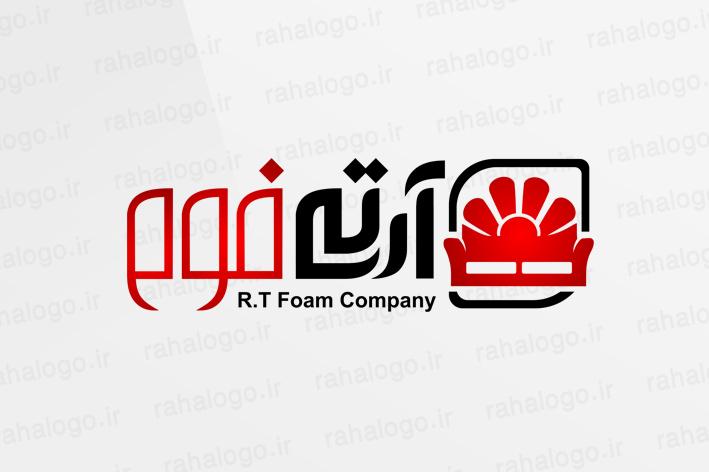 طراحی لوگو شرکت آرتی فوم