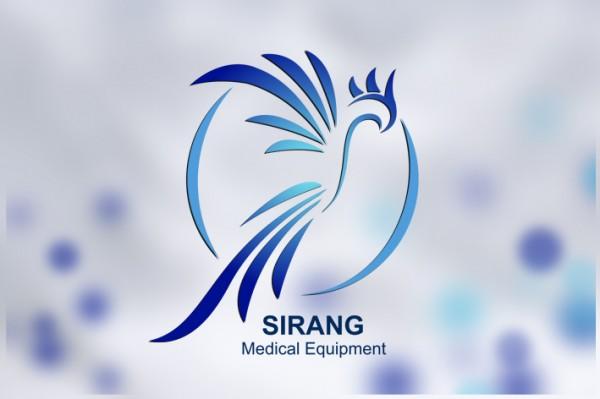 طراحی لوگو تجهیزات پزشکی سیرنگ