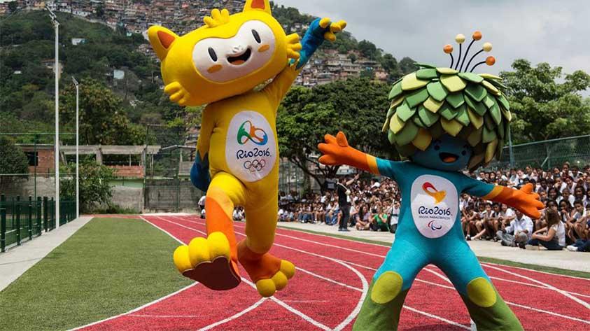 لگو های عروسکی ریو نماد المپیک و پارالمپیک